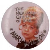 Mari Wilson - 'The Neasden Queen of Soul' Button Badge